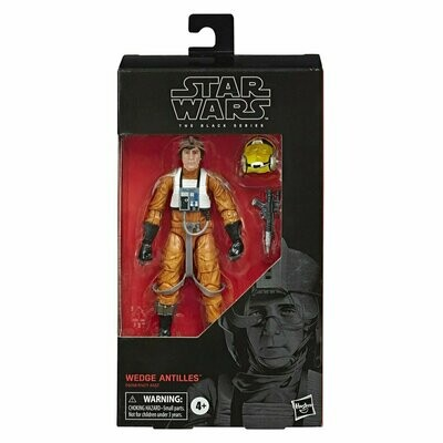 Star Wars - The Black Series 6-Inch #102 - Wedge Antilles