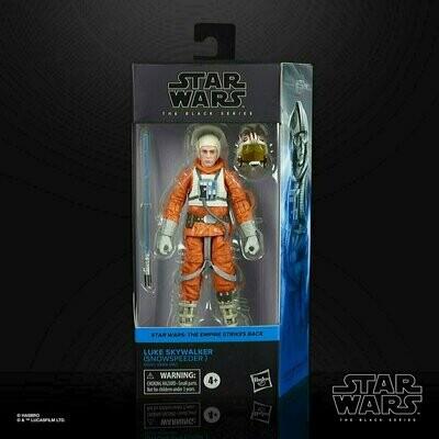 Star Wars - The Black Series 6-Inch - Luke Skywalker (Snowspeeder)