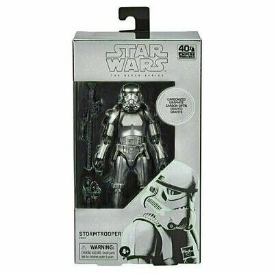Star Wars - The Black Series 6'' - Carbonized Stormtrooper