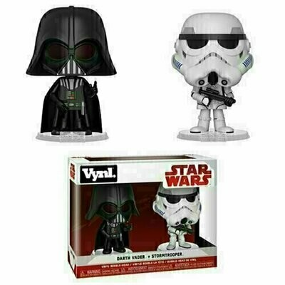 Funko VYNL - Star Wars - Darth Vader and Stormtrooper 2-Pack