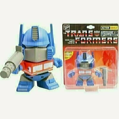 Transformers - 5.5'' Optimus Prime - Action Vinyls Collectible Figure