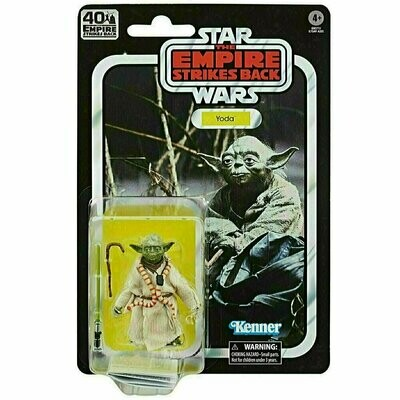 SOLD OUT Star Wars - 40th Anniversary 6-Inch Figure - Yoda