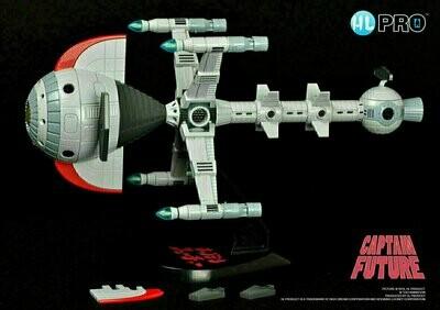 HL Pro - Metaltech 11 - Die Cast - Captain Future Comet (Vaisseau Capitaine Flam)