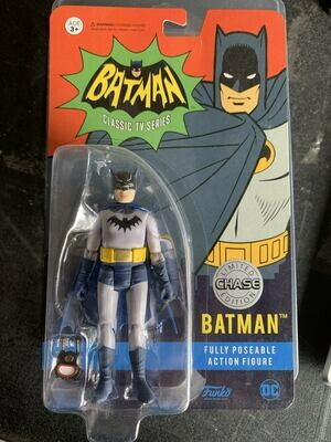 Funko - Batman 1966 Action Figure - Batman (Chase Edition)