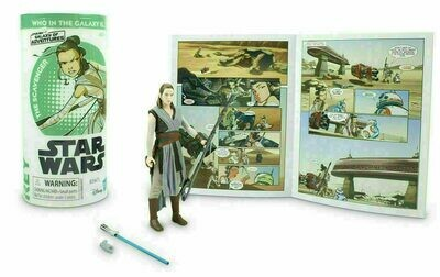 Star Wars - Galaxy Of Adventures W3 - Rey with Mini Comic