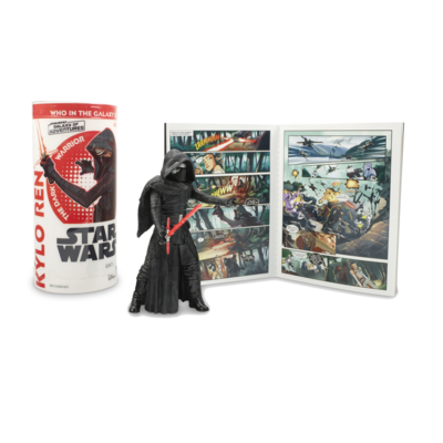 Star Wars - Galaxy Of Adventures W3 - Kylo Ren with Mini Comic
