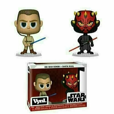 Funko VYNL - Star Wars - Obi-Wan Kenobi & Darth Maul