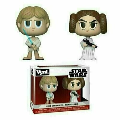 Funko VYNL - Star Wars - Luke Skywalker & Princess Leia