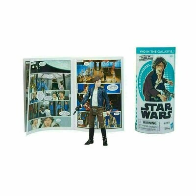 Star Wars - Galaxy Of Adventures W2 - Han Solo with Mini Comic