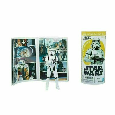 Star Wars - Galaxy Of Adventures W2 - Imperial Stormtrooper with Mini Comic