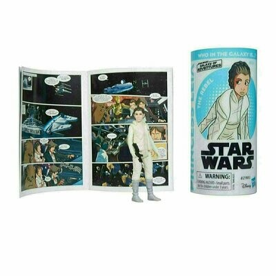Star Wars - Galaxy Of Adventures W2 - Princess Leia Organa with Mini Comic