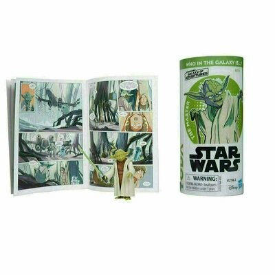 Star Wars - Galaxy Of Adventures W2 - Yoda with Mini Comic