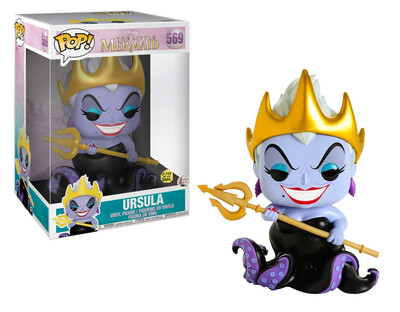 Pop ! Disney 569 - Little Mermaid - Ursula 10-Inch