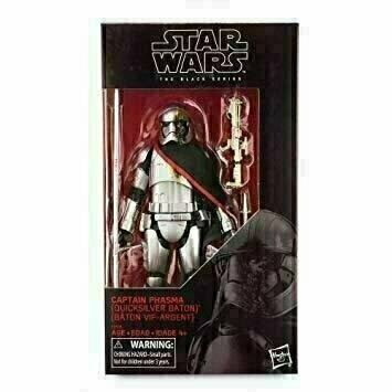Star Wars - The Black Series 6'' RED - Captain Phasma (Quicksilver Baton)