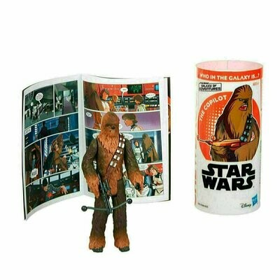 Star Wars - Galaxy Of Adventures W1 - Chewbacca with Mini Comic