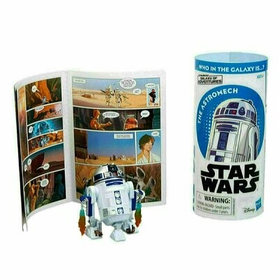 Star Wars - Galaxy Of Adventures W1 - R2-D2 with Mini Comic