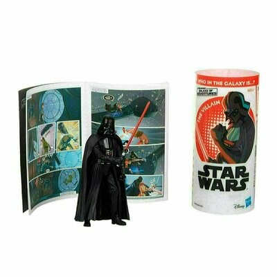 Star Wars - Galaxy Of Adventures W1 - Darth Vader with Mini Comic