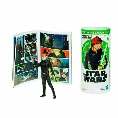 Star Wars - Galaxy Of Adventures W1 - Jedi Luke with Mini Comic