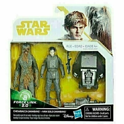 Star Wars - Solo - Chewbacca (Mimban) & Han Solo (Mimban) (2-Packs)