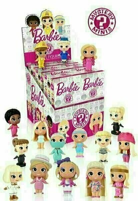 Funko - Mystery Minis - Barbie (1 Randomly Picked)