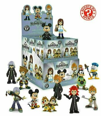 Funko - Mystery Minis Mini Vinyl Figure Blind Box - Disney Kingdom Hearts (1 Randomly Picked)