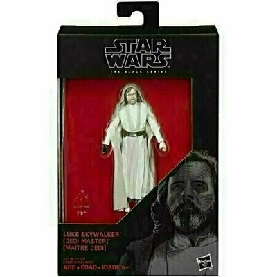 Star Wars - The Black Series - 2015 Red Boxed Walmart Exclusive - Luke Skywalker (Jedi Master)