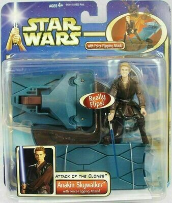Star Wars - Saga - Deluxe Anakin Skywalker with Force-Flipping Attack