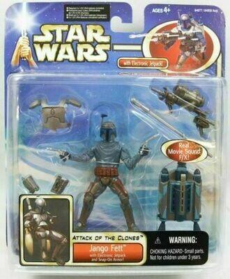 Star Wars - Saga - Deluxe Jango Fett (Electronic Jetpack)