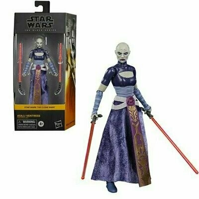 PREORDER 2021-07 Star Wars - The Black Series 6-Inch - Asajj Ventress