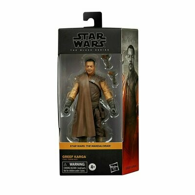 PREORDER 2021-01 Star Wars - The Black Series 6-Inch - Greef Karga