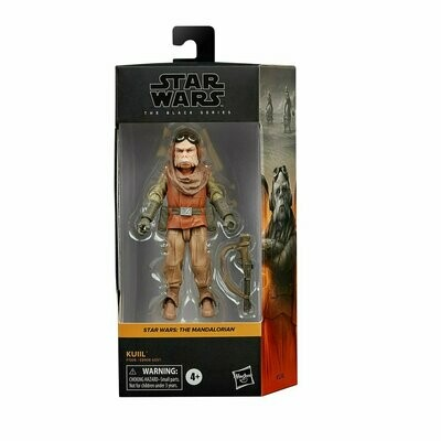 PREORDER 2021-03 Star Wars - The Black Series 6-Inch - Kuiil