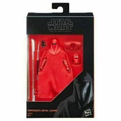Star Wars - The Black Series - 2015 Red Boxed Walmart Exclusive - Emperor's Royal Guard