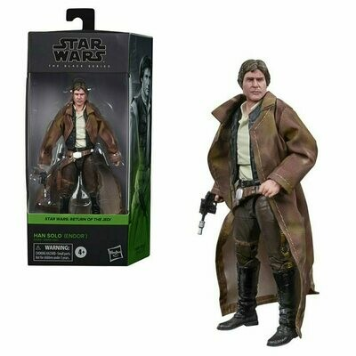 PREORDER 2021-03 Star Wars - The Black Series 6-Inch - Han Solo (Endor Trenchcoat)