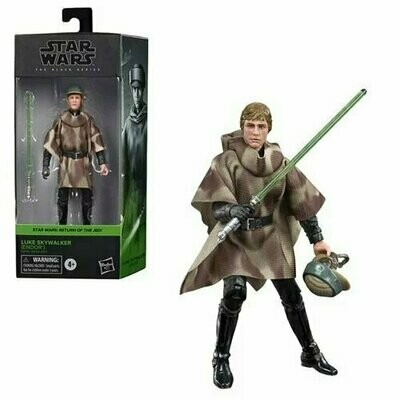 PREORDER 2021-03 Star Wars - The Black Series 6-Inch - Luke Skywalker (Endor Battle Poncho)