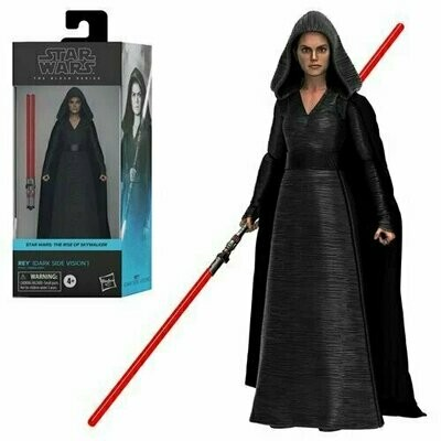 PREORDER 2021-02 Star Wars - The Black Series 6-Inch - Rey (Dark Side Vision)
