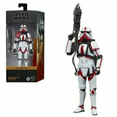 PREORDER 2021-08 Star Wars - The Black Series 6-Inch - Incinerator Trooper