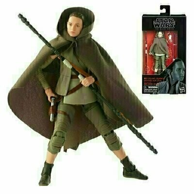 Star Wars - The Black Series 6'' W15 #58 - Rey (Island Journey)