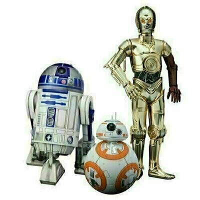 Star Wars - ArtFX Statue - C-3PO, R2-D2 and BB-8