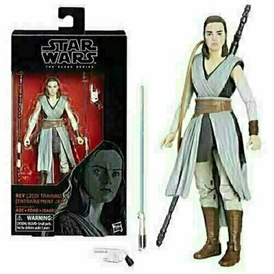 Star Wars - The Black Series 6'' W12 #44 - Rey (Jedi Training)