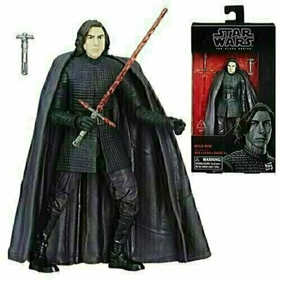 Star Wars - The Black Series 6'' W12 #45 - Kylo Ren (Last Jedi)