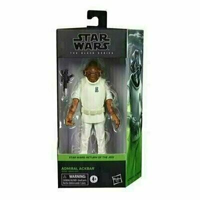 Star Wars - The Black Series 6-Inch - Admiral Ackbar