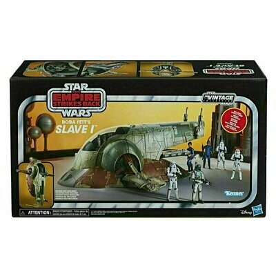 Star Wars - Vintage Collection - Boba Fett's Slave I 3 3/4-Inch Scale Vehicle - Exclusive
