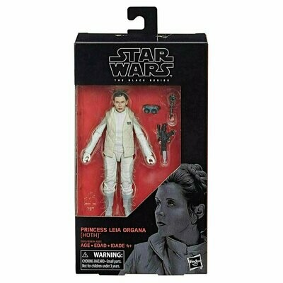 Star Wars - The Black Series 6'' W19 #75 - Princess Leia Organa (Hoth)
