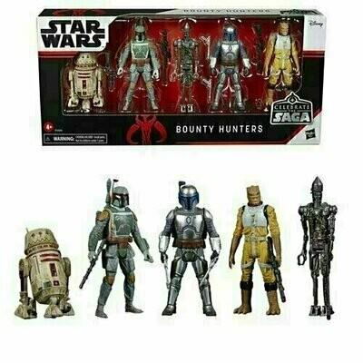 Star Wars - Celebrate The Saga - Bounty Hunters Action Figure Set