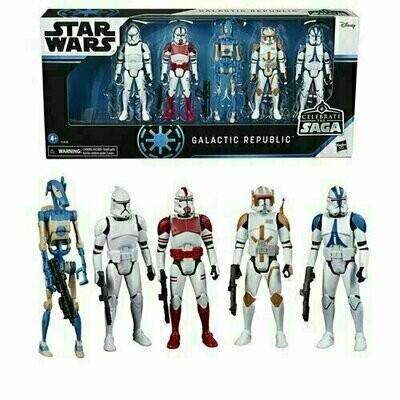 Star Wars - Celebrate The Saga - Galactic Republic Action Figure Set