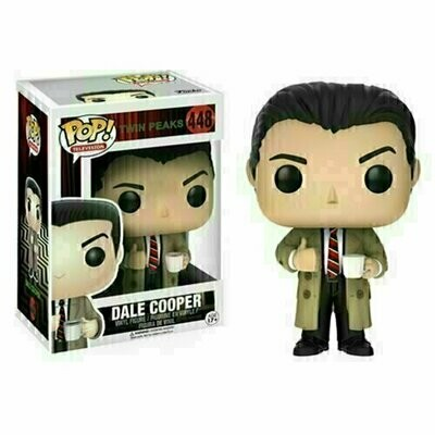 Pop ! Television 448 - Twin Peaks - Dale Cooper