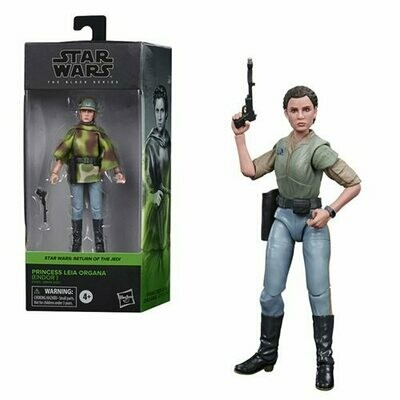 PREORDER 2021-03 Star Wars - The Black Series 6-Inch - Princess Leia Organa (Endor)
