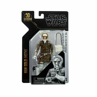 PREORDER 2021-02 Star Wars - The Black Series 6-Inch Archives - Han Solo (Hoth)