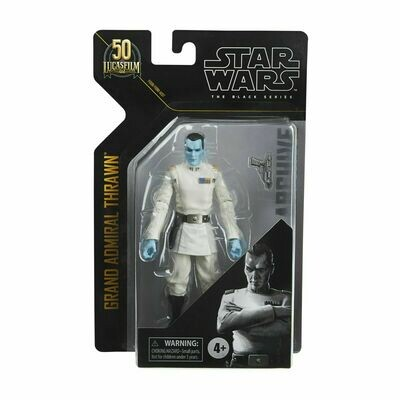 PREORDER 2021-02 Star Wars - The Black Series 6-Inch Archives - Grand Admiral Thrawn