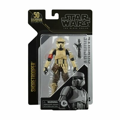 PREORDER 2021-04 Star Wars - The Black Series 6-Inch Archives - Shoretrooper (Scarif Stormtrooper)